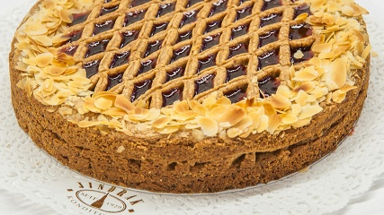 The Linzer Torte of Jindrak's pastry shop